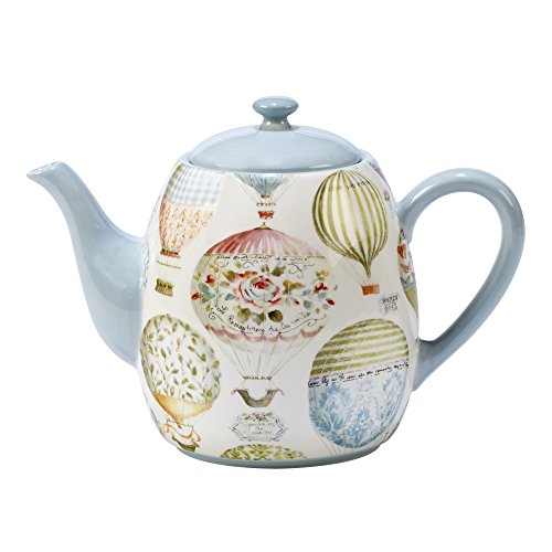 Multi Beautiful Colored (Certified International 23587 Beautiful Romance Teapot 40 oz, One Size, Multicolored)