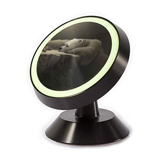 Car Phone Mount Holder Cave Sad Bear 360° Rotation Magnetic Car Phone Holder Universal with Super Strong Magnet -