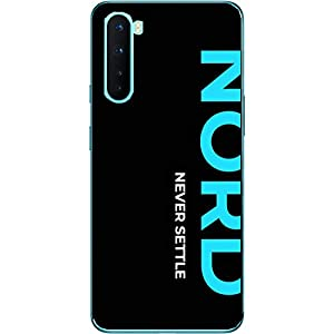 Shopezzz Bazaar Polycarbonate Back Cover for OnePlus Nord (Multicolor)