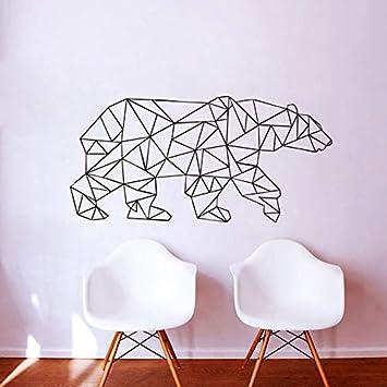 42 * 90 cm Animal Lindo Etiqueta de La Pared Oso Polar Arte ...