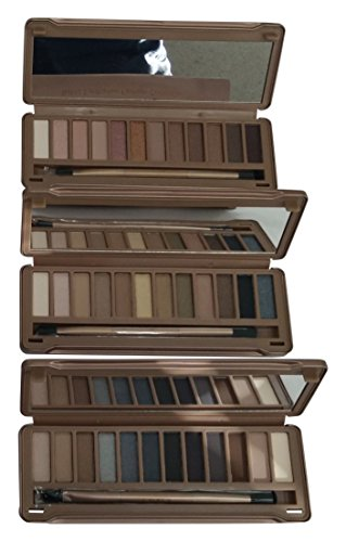 Cameo Naked Fashion Eye shadow Collection, Set of 3 Piece (Bronze Tawny Finish)