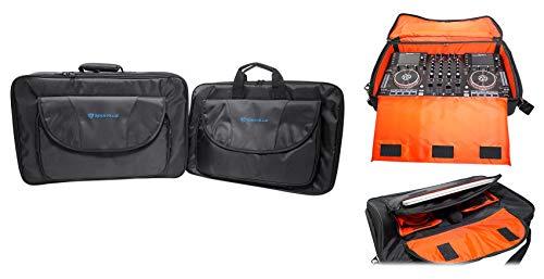 ROCKVILLE DJ 휴대 케이스 믹서 | 컨트롤러 | CD 플레이어 | 노트북+보너스 기어 가방
