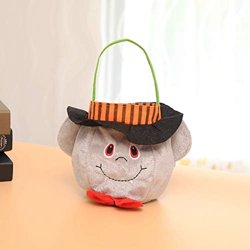 Elevin(TM)  Halloween Kids Doll Candy Sweet Jar Box Children Storage Cans Party House Decor ()