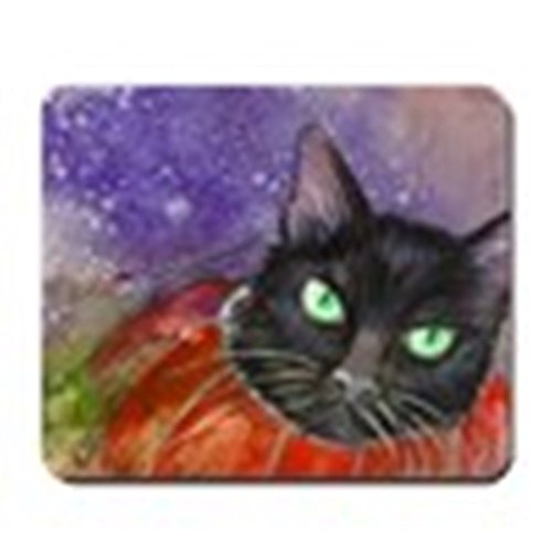 CafePress - Halloween Kitty in a Pumpkin Mousepad - Non-slip Rubber Mousepad, Gaming Mouse Pad