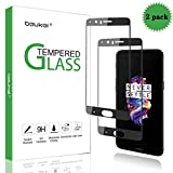 (2 Pack) Beukei for OnePlus 5 Screen Protector Tempered Glass, Glass with 9H Hardness, with Lifetime Replacement Warranty