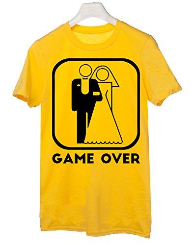 humor over Tshirt taglie le addio al Giallo addio by nubilato celibato al Tutte game tshirteria 5frqf1x8