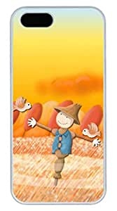 iPhone 5 5S Case Scarecrow Funny Lovely Best Cool Customize iPhone 5S Cover White