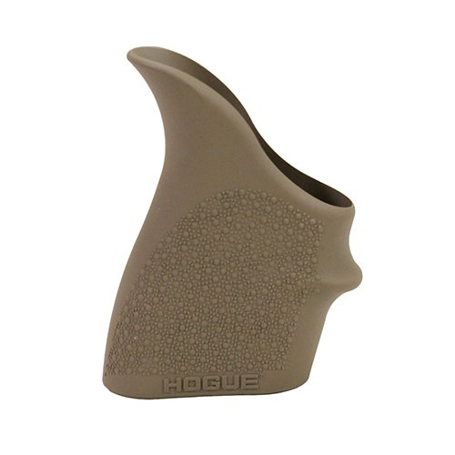 Hogue 18303  HandAll Beavertail Grip Sleeve S&W M&P Shield 45, Kahr P9/P40/CW9/CW40 - Flat Dark Earth