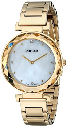 Pulsar Women's PM2080 Night Out Analog Display Japanese Quartz Watch