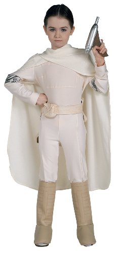 Kids Deluxe Padme Costumes (Deluxe Padme Amidala Child Costume - Medium)