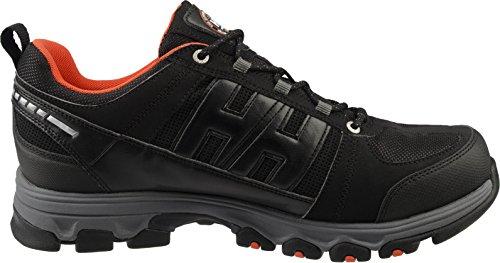 Helly Hansen Mens Trackfinder Waterproof Membrane Walking Shoes Black/Orange