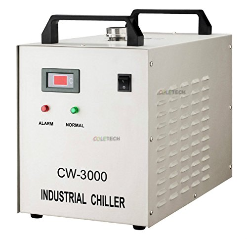 Industrial Water Cooling Chiller for CO2 Laser Tube Engraver Cutting Cutter CW3000 DG 110V