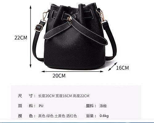 à Black Cadeaux femmes mode MSZYZ sac sac de de nouveau main sac seul Ow0p4qBn