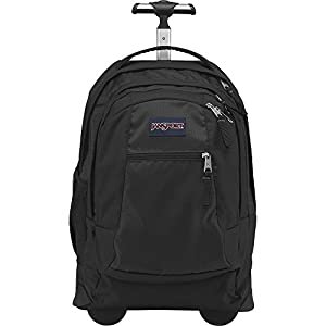 JanSport Driver 8 Rolling Backpack with Wheels (Black)