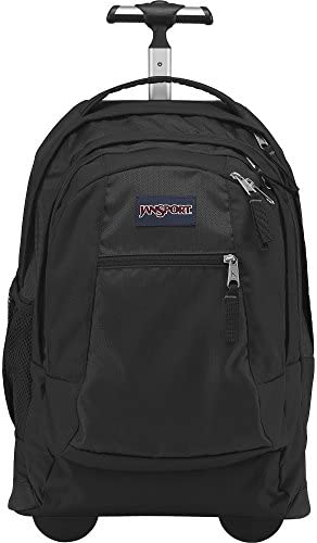 JanSport Driver 8 Rolling Backpack with Wheels Black
