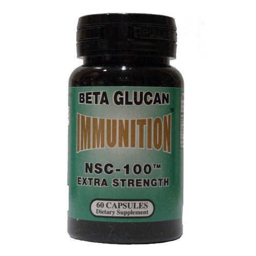 Nutritional Supply Corp Immunition NSC 100 Beta Glucan Extra Strength -- 10 mg - 60 Capsules