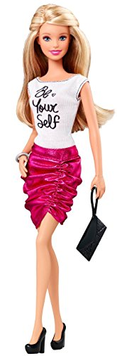 Barbie Fashionistas Barbie Doll, Pink Skirt and