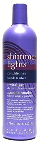 Clairol Professional Shimmer Lights Color Enhancing Conditioner 16 oz ( Pack of 2)