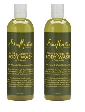 Shea Mst Bdy Wsh Olve&Grn Size 13z Shea Olive & Green Tea Body Wash 13z