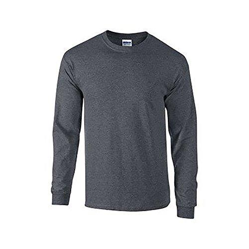 Dark Heather Soft Camiseta L Hombre Para Style Gildan Z8qw78