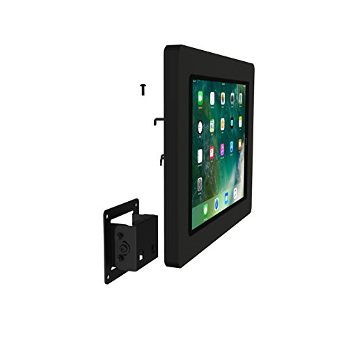 iPad Pro 10.5'' Black Tilting Permanent Glass Mount [Bundle] by VidaMount (Image #8)