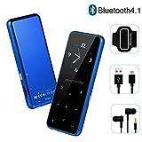 MP3 Player - HonTaseng Bluetooth 4.2 Metal Touch Button Sport Music Player