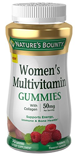 Nature's Bounty Women's Multi, 90 Gummies, Fruit Flavored Gummy Vitamin Supplements for Adults