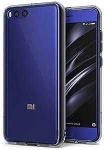Xiaomi Mi 6 Case, Ringke [FUSION] Tough PC Back TPU Bumper [Shock Absorption Technology] Raised Bezels Protective Cover for Xiaomi Mi6 - Smoke Black