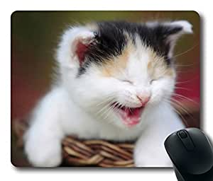 Design Mouse Pad Desktop Laptop Mousepads Cute Crying Kitty Comfortable Office Mouse Pad Mat Cute Gaming Mouse Pad