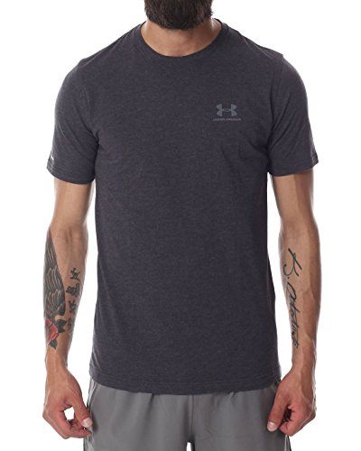 Under Armour Sportstyle Left Chest Logo T-Shirt- AW16 - Small - Grey