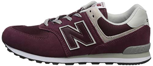 – Unisex New 574v2 grey Bambini Sneaker Balance Burgundy SqqgBIA