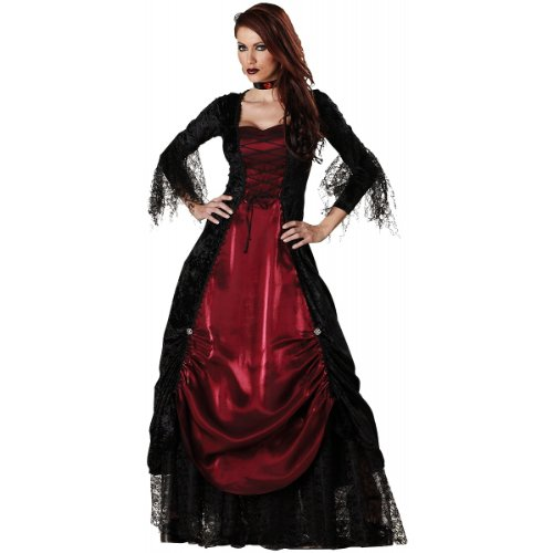 InCharacter Costumes Women's Gothic Vampiress Costume - Size Medium -