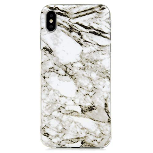 (ZSTVIVA iPhone Xs Max 6.5 inch Case, Ultra Soft Slim TPU Back Case Shockproof Drop Resistance Protective Skin Unique Painted Pattern Phone Cover)