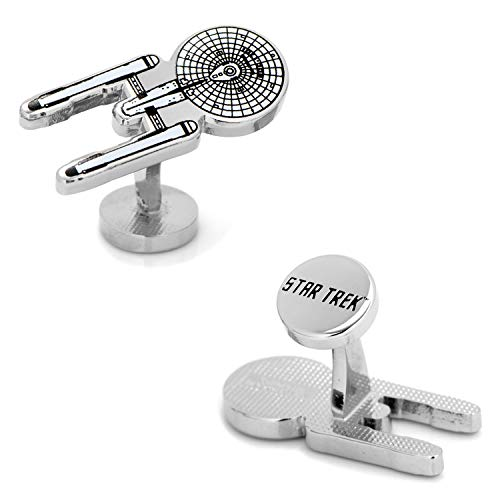 Blue Print Cufflinks - Cufflinks Star Trek Enterprise Blue Print, Officially Licensed