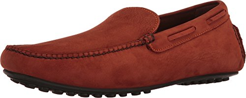 Frye Mens Allen Venetian Driving Style Mocassino Ruggine Soft Nubuck Italiano