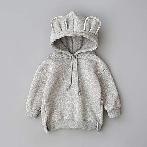 Fartido Baby Boys Girls Flannel Keep Warm Cartoon Hooded Romper Jumpsuit