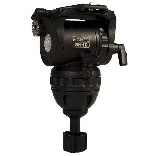 E-Image GH10 75mm Pro Fluid Video Head (Black)