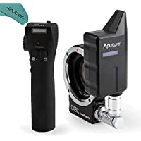 Aputure DEC LensRegain Wireless Remote Follow Focus Lens Adapter with Focal Reducer 0.75× Focus Reducing for Canon EF-mount Lenses to MFT Mount Cameras