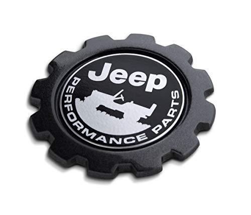(Mopar 82215764 Jeep Wrangler Renegade Patriot Compass Commander Cherokee Liberty Grand Performance Parts (JPP) Gear Badge )