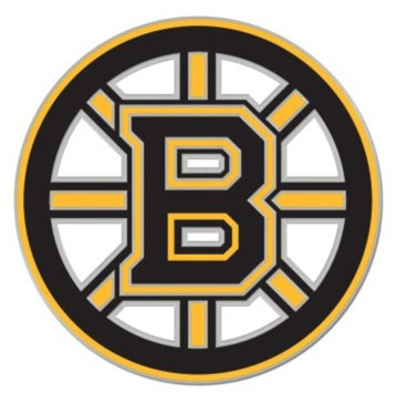 (WinCraft NHL Boston Bruins Logo 1-inch Metal Collectors Pin)