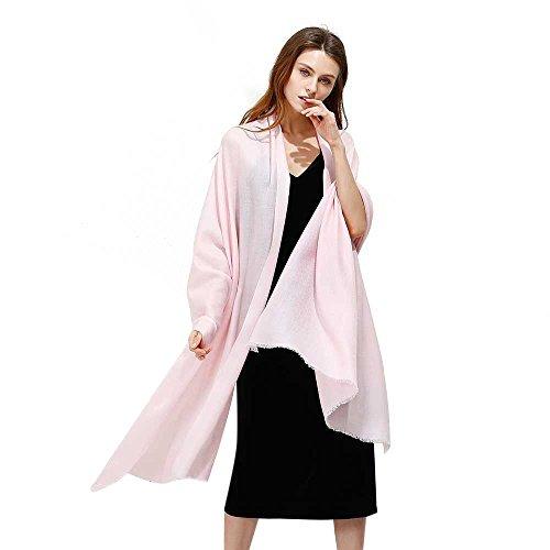 JULY SHEEP Pure 100% lamb wool Ultra Thin Scarf Womens Soft Long Scarves Shawl Wraps by JULY SHEEP (Image #6)