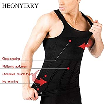 dd08278e0ab Hot Sale Men Shapers Sleeveless Firm Tummy Belly Buster Vest Control  Slimming Belt Hot Shaper Underwear