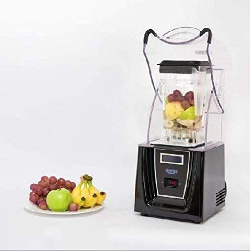 Enpee Quiet 1800W Commercial Blender with Sound Reducing