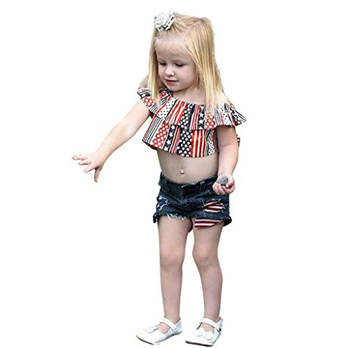 VEFSU Fashion Toddler Baby 4th of July Stars