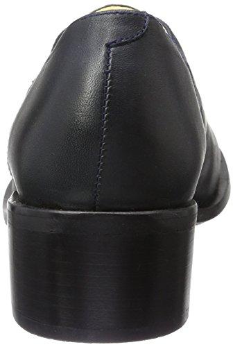 John W. Shoes Merida, Zapatos de Cordones Derby para Mujer Azul (Marino)