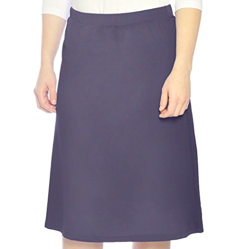 - Kosher Casual Women's Modest Running & Sports Skirt Large Navy