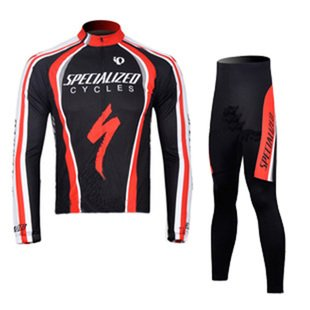ed5db19b1 Specialized Team Edition Men s Thinnish Fabric Long Sleeve Cycling Jersey  Set ...