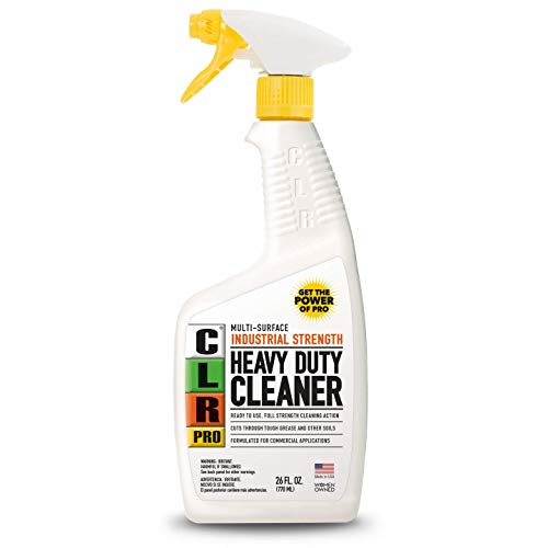 CLR PRO Heavy Duty Cleaner, Industrial Strength, Multi-Purpose Degreaser, 26 Ounce Spray Bottle