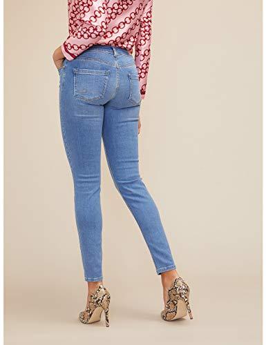 Skinny Size Oltre Paris italian Blu Jeans Iw55q1xO