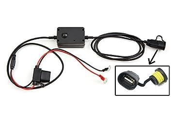 Cargador USB de teléfonos apto para motocicletas, motos ...